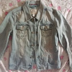 Abercrombie Denim Jacket Size XL